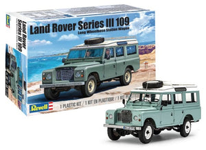 Land Rover Series III 109 Long Wheelbase Wagon w/Roof Rack 1/24 Revell