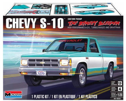 "Revell 1993 Chevy S-10 ""The Street Sleeper"" 1/25 4503 Plastic Model Kit - Shore Line Hobby"