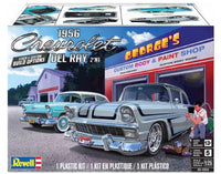 Revell 1956 Chevrolet Del Ray (2 'n 1) Stock or Custom (1/25) Plastic Model Kit - Shore Line Hobby