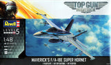 Revell 1:48 Top Gun Maverick's F/A-18 Super Hornet 5871 Plastic Model Kit - Shore Line Hobby