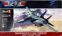 Revell 1:48 Top Gun Maverick's F-14 Tomcat 5872 Plastic Model Kit - Shore Line Hobby