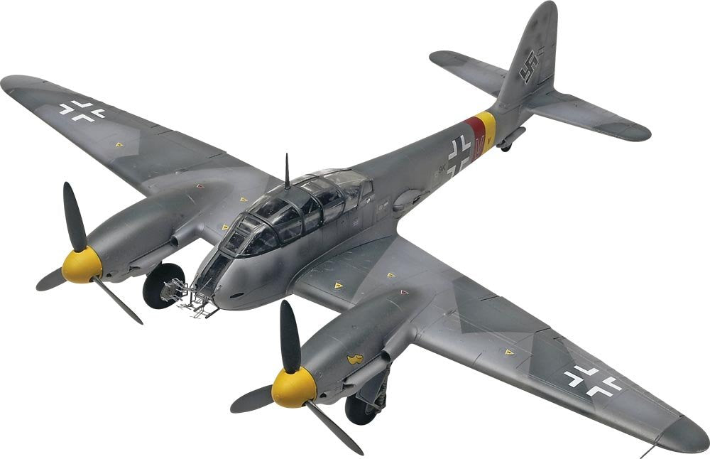 Revell Messerschmitt Me 410B-6/R Plastic Model Kit 1/48 85-5990 - shore-line-hobby