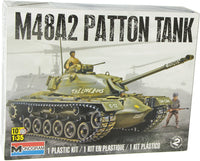 Revell M48A2 Patton Tank 1:35 Military Plastic Model Kit 7853 Armor - Shore Line Hobby