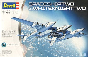 Spaceship Two & White Knight Two Revell 4842 1/144 - shore-line-hobby