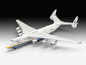 Antonov An225 Mrija Military Cargo Aircraft 1/144 Revell Germany 04958 Model Kit