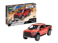 Revell 7048 1:25 2017 Ford F-150 Raptor (Easy-Click) Plastic Model Kit Multicolour 1/25 - shore-line-hobby