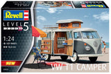 Revell VW T1 Van Camper 1:24 7674 Plastic Model Kit - Shore Line Hobby