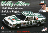 Bobby Allison 1982 Buick Regal Salvino JR Models 1/24 Model Kit - Shore Line Hobby