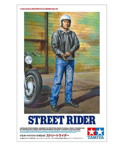 Tamiya 14137 1/12 Street Motorcycle Rider Plastic Model Kit