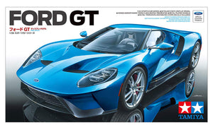 Tamiya 24346 Ford GT 1/24 Scale Plastic Model Car Kit Sports Car