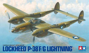 P-38F/G Lightning WWII Fighter 1/48 Tamiya 61120