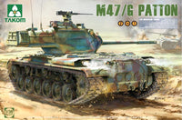 Takom M47/F Patton Tank 2070 1/35 Armor Plastic Model Building Kit