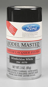 Testors Wimbledon White 28132 3oz. Spray Model Master Auto Lacquer