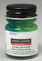 Testors # 4669 1/2oz Bottle Acrylic Gloss Green Paint - shore-line-hobby
