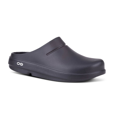 Oofos Mens/Womens OOClog Black