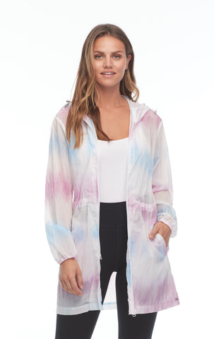 FDJ Tie-Dye Hooded Jacket 1468913-MULTI