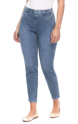 FDJ Reversible Pull-On Slim Ankle 2751676-DMMULT Denim Multi