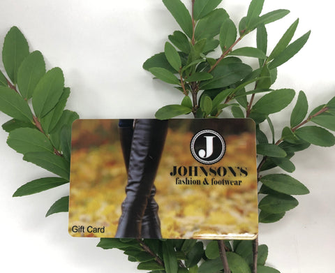 Johnson's Gift Card - $25