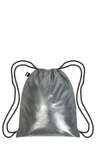 Loqi Backpack BP.MM-SI - Metallic Silver