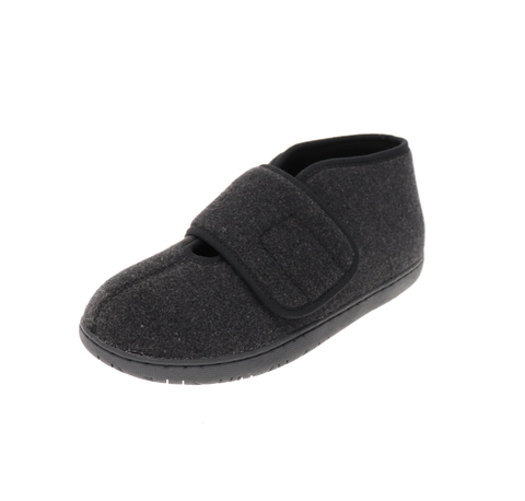 "Womens Foamtreads ""Comfort L2""  Extra-Depth Slipper - Black"