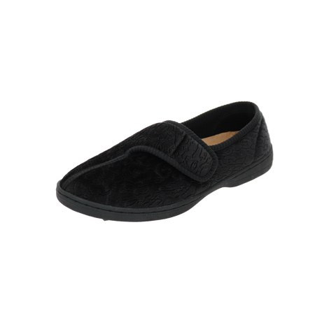 "Womens Foamtreads ""Jewel 2"" Slipper - Black"