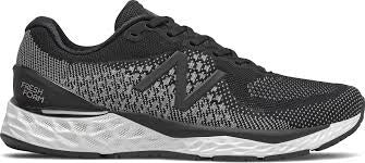 Mens New Balance Runner M880K10 - Black with White