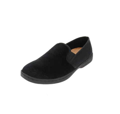 "Womens Foamtreads ""Debbie 2""  Slipper - Black"