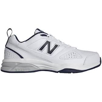 Mens New Balance MX624WN2 Trainer White/Navy