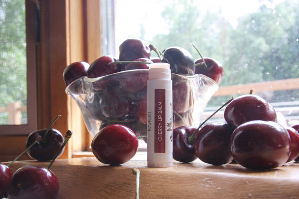 Lip Balm -Cherry - Go Natural Goat Milk Beauty Products