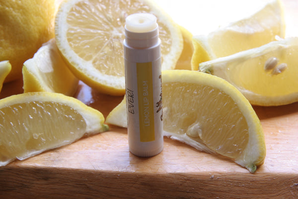 Lip Balm -Lemon - Go Natural Goat Milk Beauty Products