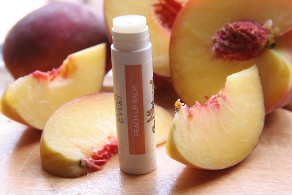 Lip Balm -Peach - Go Natural Goat Milk Beauty Products