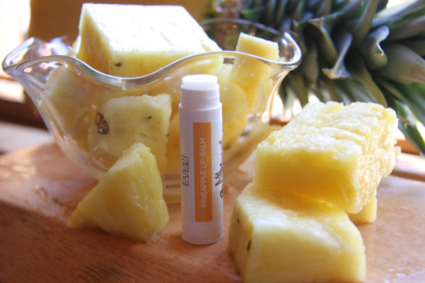 Lip Balm -Pineapple - Go Natural Goat Milk Beauty Products