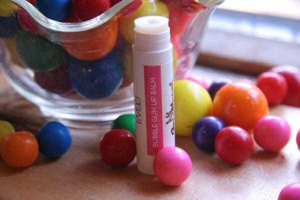 Lip Balm - Bubble Gum - Go Natural Goat Milk Beauty Products