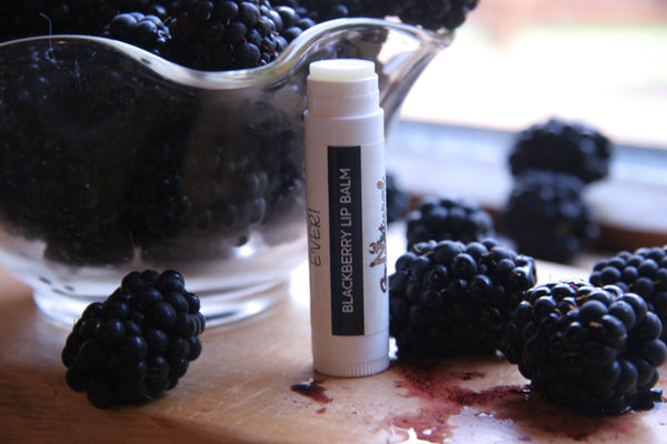 Lip Balm - Blackberry - Go Natural Goat Milk Beauty Products