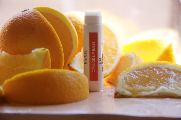 Lip Balm -Orange - Go Natural Goat Milk Beauty Products