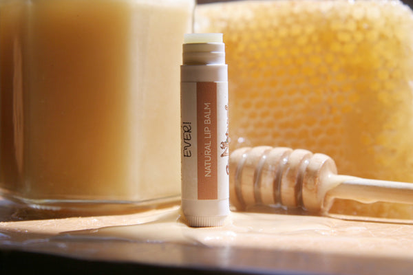 Lip Balm -Natural - Go Natural Goat Milk Beauty Products