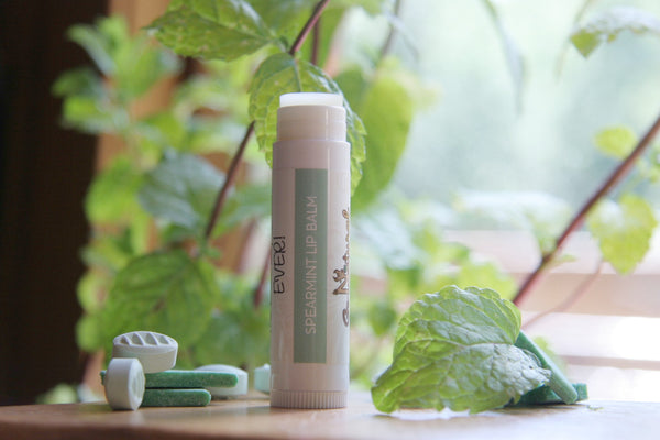 Lip Balm -Spearmint - Go Natural Goat Milk Beauty Products