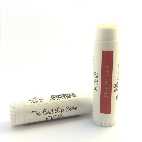 Apple Lip Balm - Go Natural Goat Milk Beauty Products