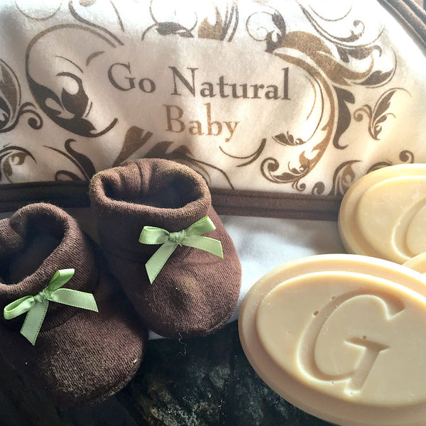 SOLD OUT  - Baby Soap - Go Natural Goat Milk Beauty Products