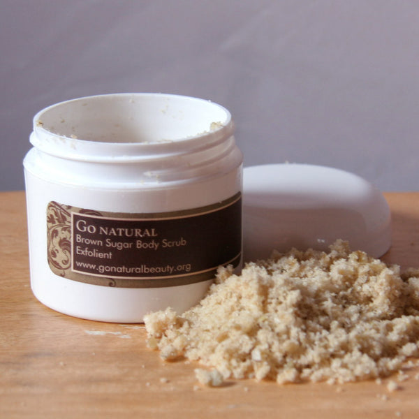 Brown Sugar Scrub - Go Natural Goat Milk Beauty Products