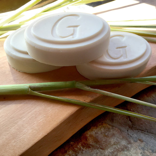 Goat Milk Soap - Lemongrass Soap - Go Natural Goat Milk Beauty Products
