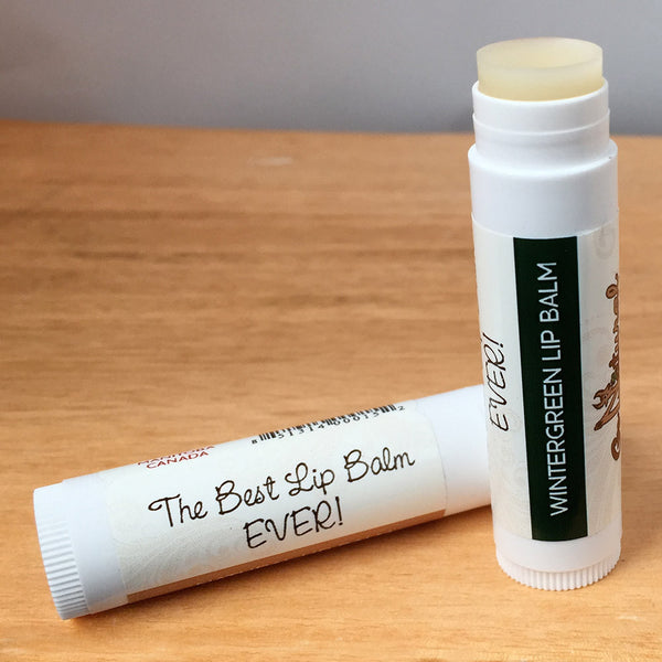 Lip Balm -Wintergreen - Go Natural Goat Milk Beauty Products