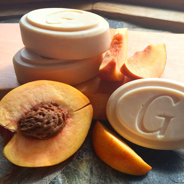 Goat Milk Soap - Peach Scent - Go Natural Goat Milk Beauty Products