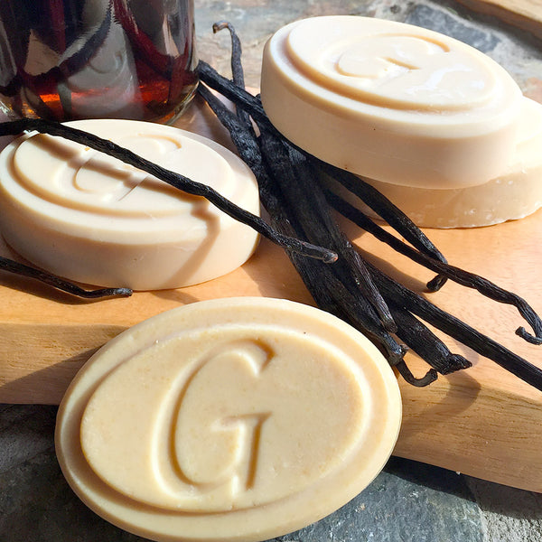 Goat Milk Soap - Vanilla Soap - Go Natural Goat Milk Beauty Products