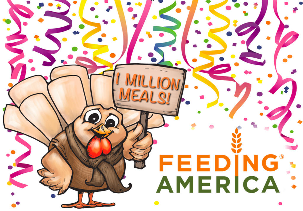 1 Million Meals reached in 2018!