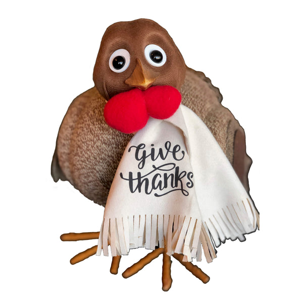 Turkey Scarf - Give Thanks