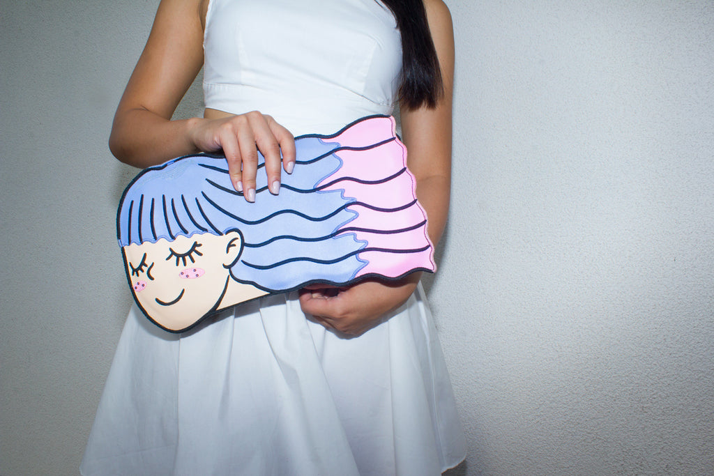"Daddy and the Muscle Academy ""Wendy"" Clutch - So International   - 3"