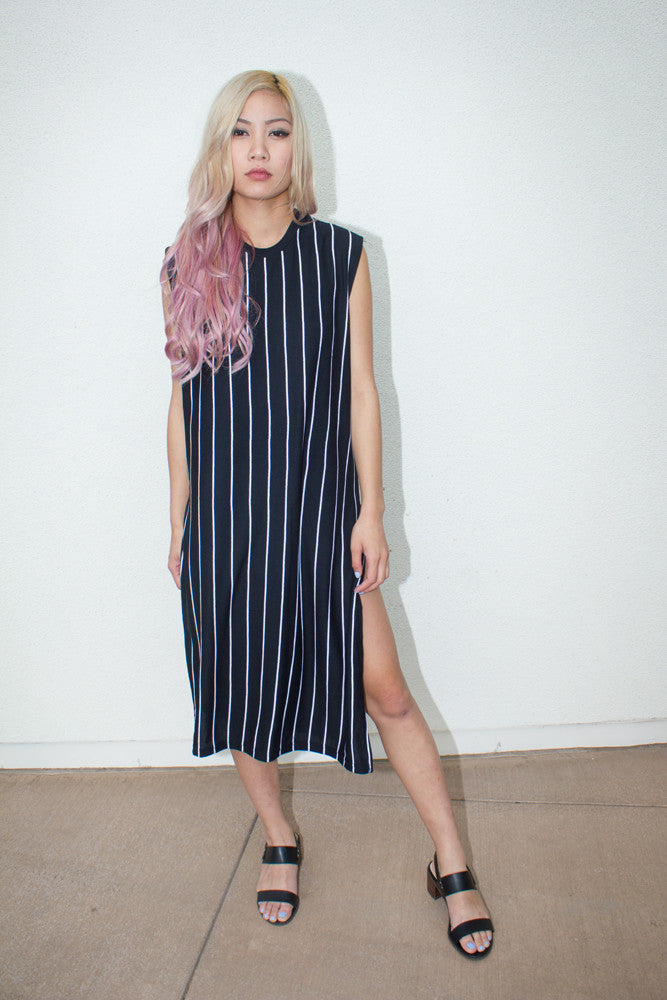 Stripe Dress - So International   - 3