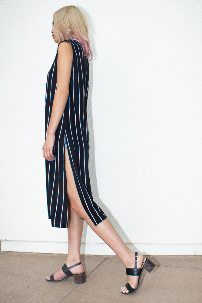 Stripe Dress - So International   - 4