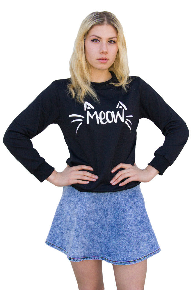 Meow Sweater - So International   - 1